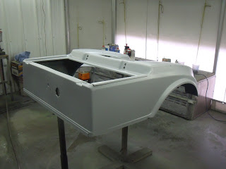 Body in primer ready to be sanded...