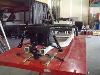 Front shocks installed