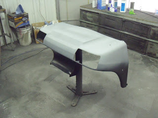 Finished the body work and laying down primer