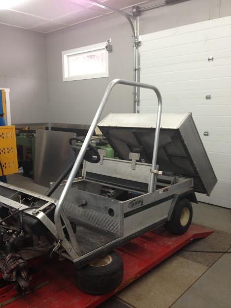 club car carryall 2 – twin work cart build *part 3* | SC CARTS