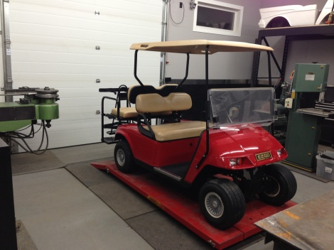 This cart turned out awesome, just a super clean factory looking cart!