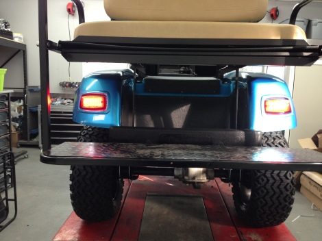 Tail lights...check!