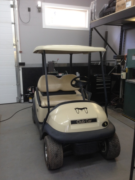 So we are starting with a pair of identical 2005 Club Car Precedents.