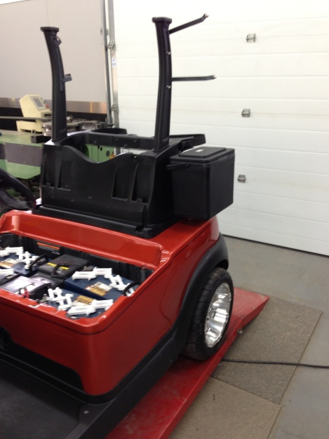 For those hot days out on the links, a cooler is mandatory!