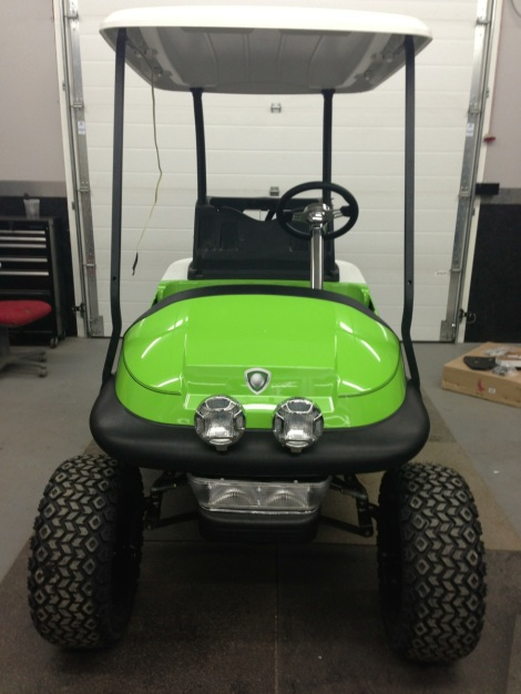 No off road buggy would be complete without a set of off road lights to light up the path!