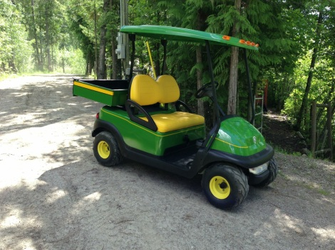 Here it is all finished up, you can see how nice some pin striping finishes this cool cart off.