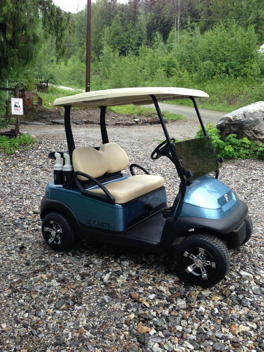 Sc Carts Metallic Precedent Golfer Part 2 Sc Carts