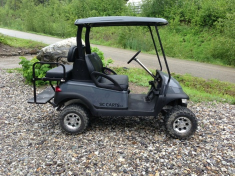 This is a great height cart for useability while still giving great off-road clearance and capability.
