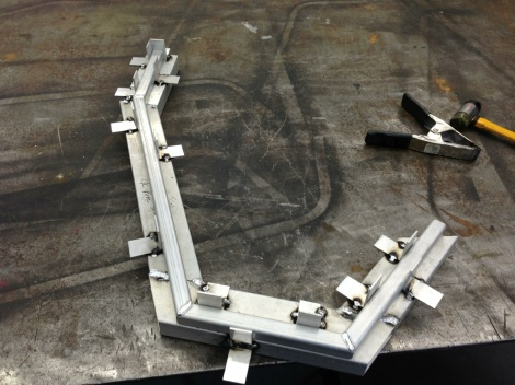 We carefully cut and fit all the pieces to ensure a nice factory Club Car finish.