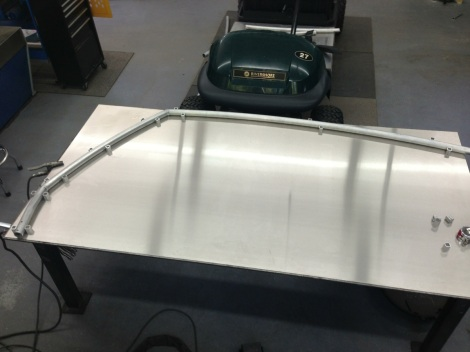 Being extremely happy with the design we proceeded to build a jig that would work for both the stock length Club Car Precedent and the stretch Club Car Precedent.