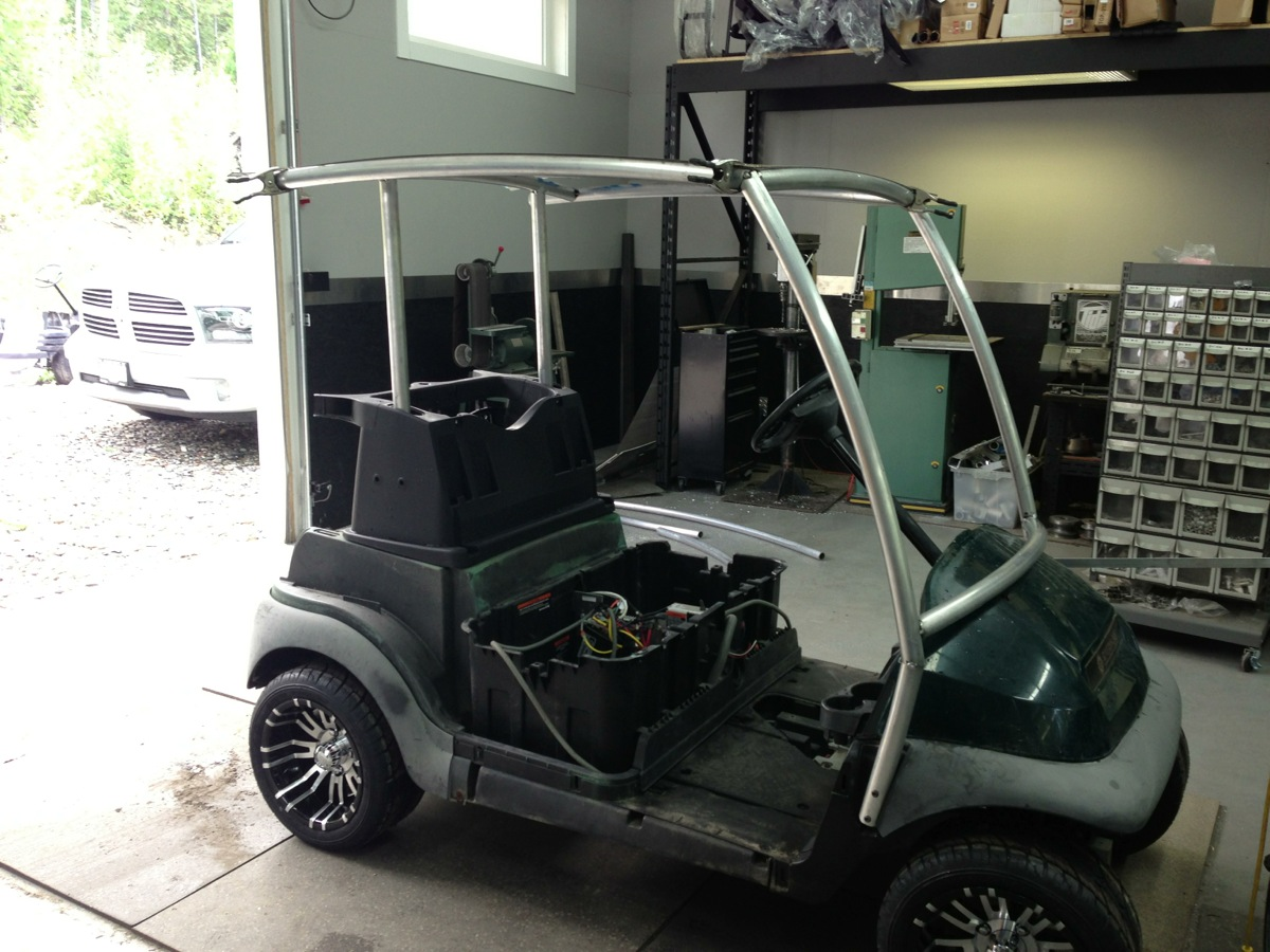 Sc Carts Custom Solar Charging Golf Cart Part 1 Sc Carts