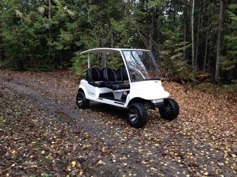 For this particular adventure we choose to take an unconventional cart for backcountry exploring, but we wanted to see if it was up to the task...and it was!