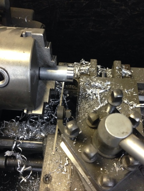 It was back to the lathe to machine some wear bushings for the Precedent plow mount.