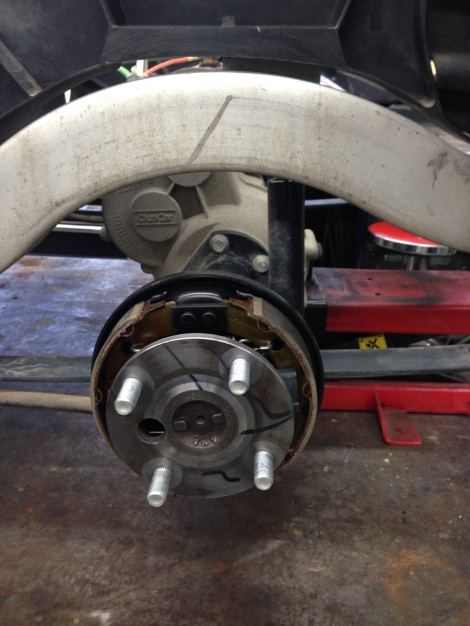 As part of our SC Carts refurbishing process the brakes get completed cleaned, adjusted and inspected. Pads are also replaced when needed.