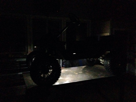 Dim the lights and hit the LED's! How cool is this! A super clean under body light package.