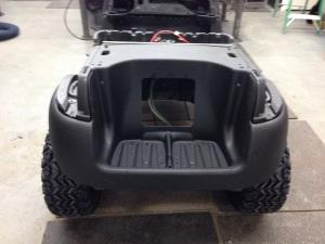 Here we installed the rear Precedent underbody.