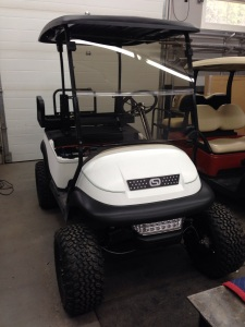 No SC Carts custom cart would be complete without the SC Carts custom grill.