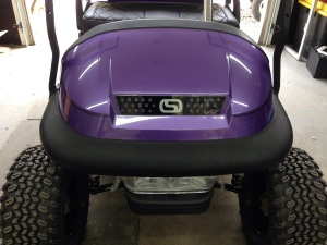 Of course no custom SC cart would be complete without our custom grill.