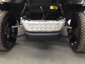 Our customer wanted to light up the night, so we installed the HID LED headlight package!