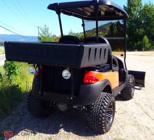 Although this is one good looking electric buggy, it was also meant for work! That's why we added these rear work lights for those light night jobs.
