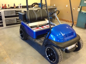Awesome!!! What a cool looking cart.