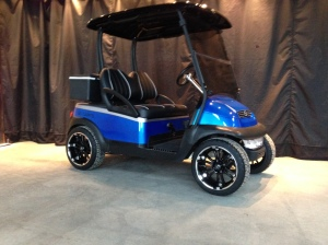 Here is this amazing Club Car Precedent all complete.