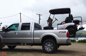Loaded up and ready to go, looks great with the matching F350!