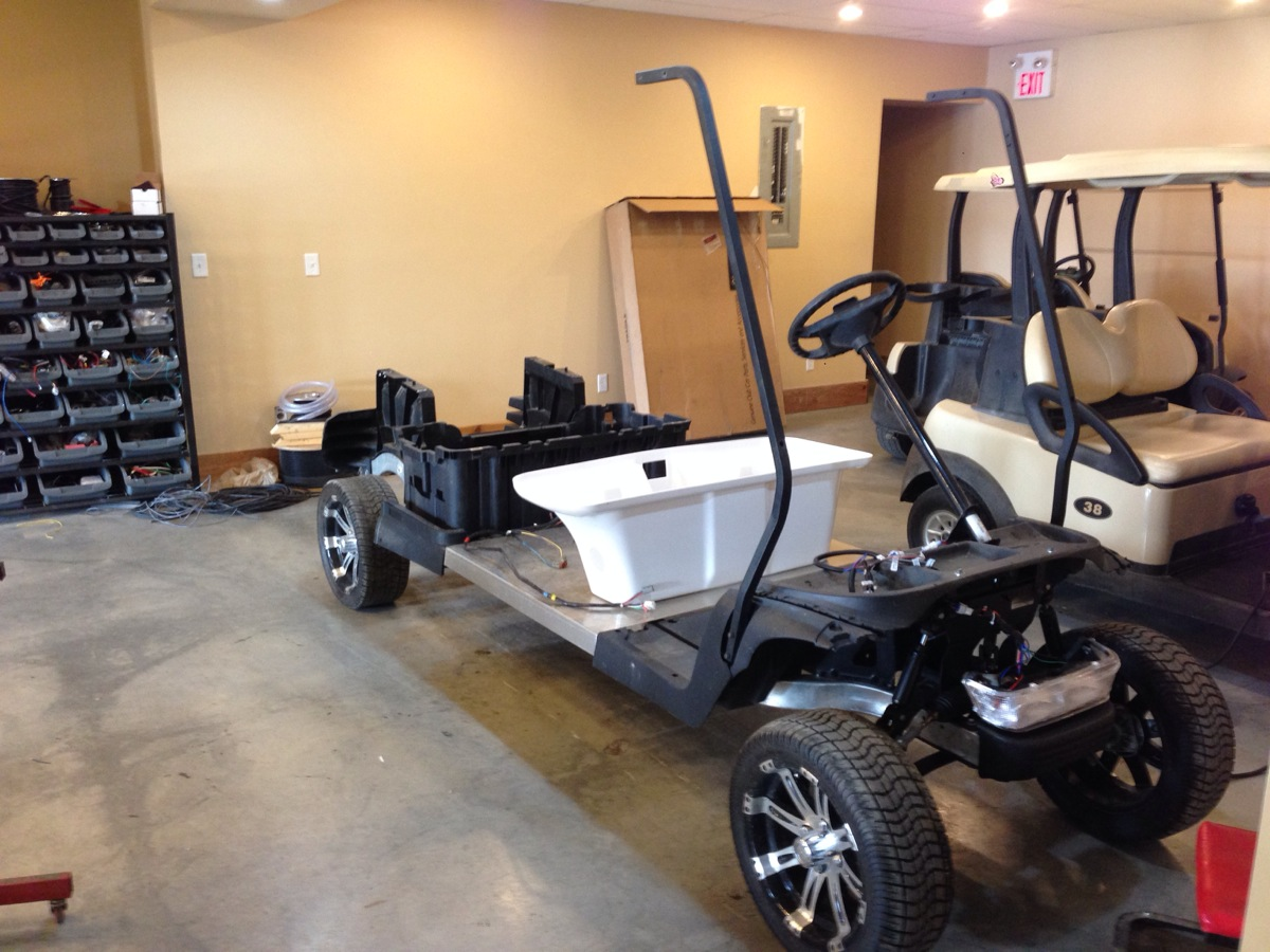 Sc Carts Custom Stretch Golf Cart Sc Carts