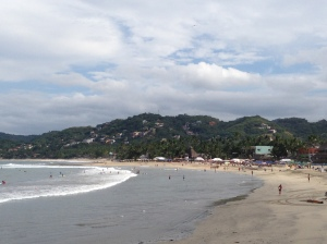 One day we decided to leave the comfort of our 5 start luxury resort and head over to a little village called Sayulita. It was originally a fishing village which has now turned into a surf village which the locals refer to as the new hippie hangout.