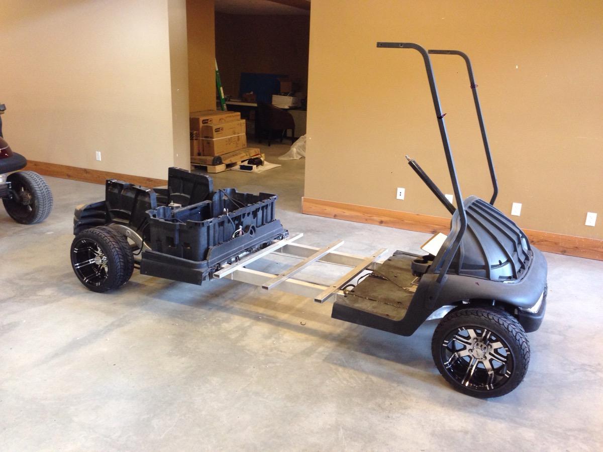 Sc Carts White Stretch Golf Cart Predator Ridge Sc Carts