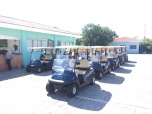 These guys have great taste using the Club Car Precedents!