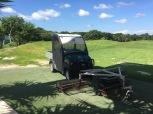 Club Car Carryall range cart