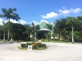 The mall located at the resort