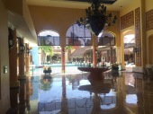 This is the lobby area