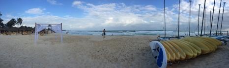 Beautiful beach and warm water